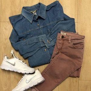 Northwest Blue Jean Button Up Shirt